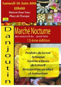 Marché nocturne @ Maison pour tous - Danjoutin