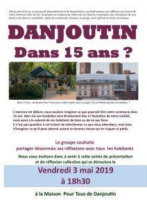 Réunion : Danjoutin dans 15 ans ? @ Maison pour tous - Danjoutin