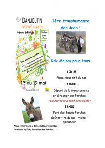 1ère transhumance des ânes @ Maison Pour tous - Danjoutin