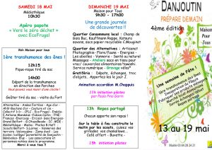 Danjoutin prépare demain @ Danjoutin