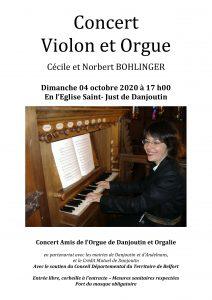 Concert Orgue @ Eglise - Danjoutin