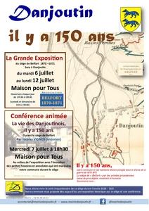 Danjoutin il y a 150 ans @ Maison Pour Tous