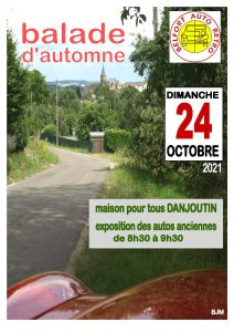 Belfort Auto Retro - Balade d'automne @ Maison Pour Tous